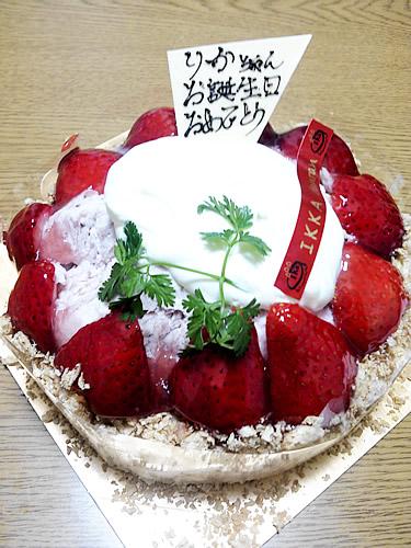 一菓だんらんのケーキ