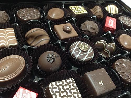 チョコいっぱい