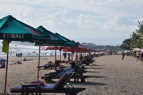 レギャンビーチ側