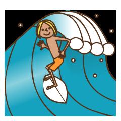 「サーフィン」メイン画像